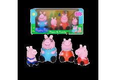 """Резиновый набор """"Семья Свинки Пеппы"""""""