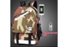 Рюкзак школьный непромокаемый. (цвет хаки )