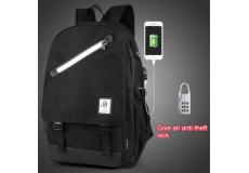 Рюкзак школьный непромокаемый. (цвет черный)