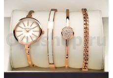 Часы с тремя браслетами Anne Klein