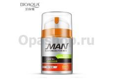 Bioaqua Man Hydra Pure&Mate Увлажняющий крем для лица, для мужчин, ( 50 г ).