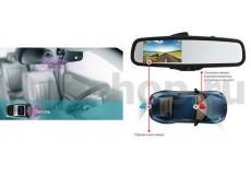 Зеркало видеорегистратор Car DVR Mirror - 1.0 с камерой заднего вида
