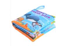 Детская мягкая книжка - шуршалка. (10 страниц)