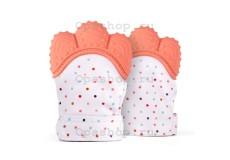 Силиконовая перчатка-прорезыватель для малышей