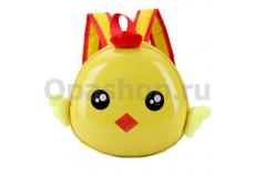 """Детский дошкольный 3D рюкзак """"Цыпленок"""""""