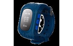 Детские часы с gps трекером Smart Baby Watch Q50 (синие)