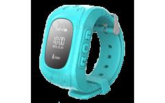 Детские часы с gps трекером Smart Baby Watch Q50 (голубые)