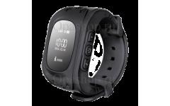 Детские часы с gps трекером Smart Baby Watch Q50 (черные)