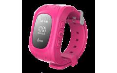 Детские часы с gps трекером Smart Baby Watch Q50 (розовые)
