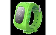 Детские часы с gps трекером Smart Baby Watch Q50 (зеленые)