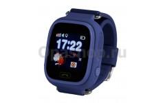Детские часы с GPS трекером Smart baby watch Q90 (Q80) ( синие)
