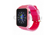 часы-телефон с GPS Smart baby watch X10 (розовый)