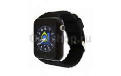 часы-телефон с GPS Smart baby watch X10 (черный)