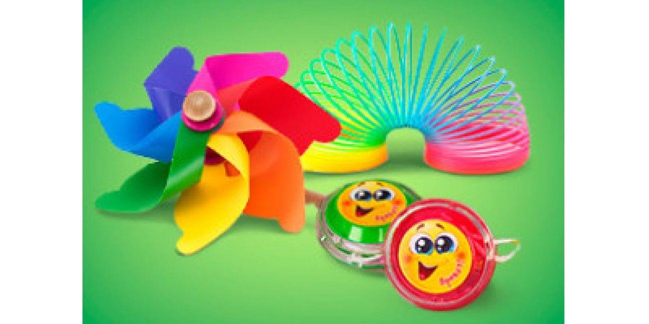 Игрушки для детских развлечений