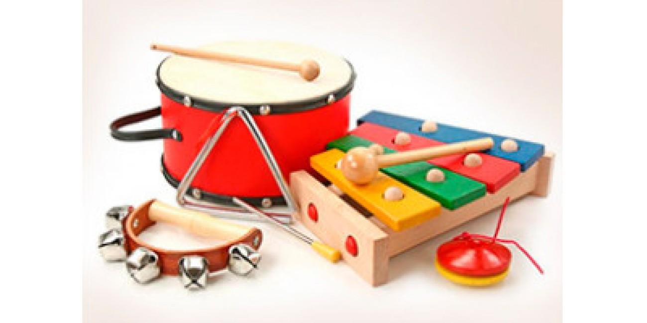 Музыкальные детские игрушки