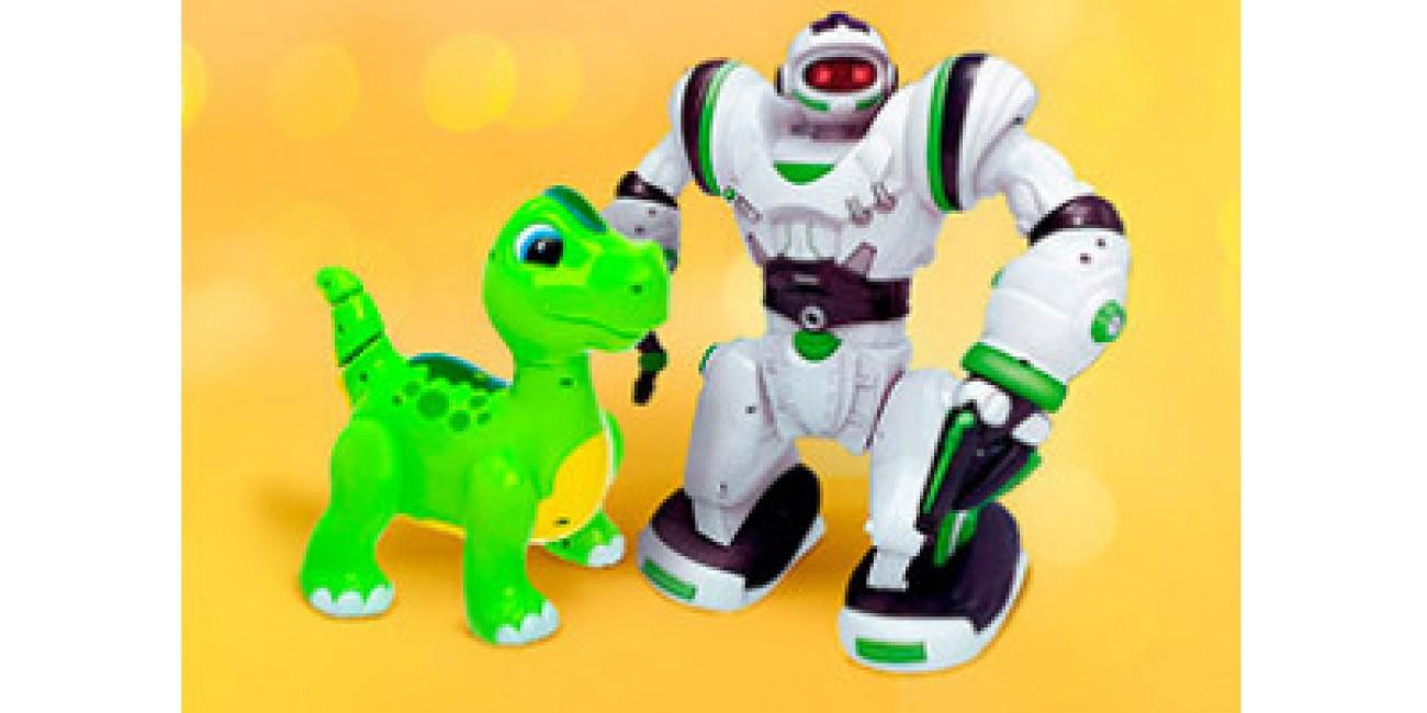 Подвижные игрушки на батарейках