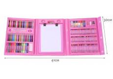 Набор для рисования в кейсе Super Mega Art Set, (208 предметов)