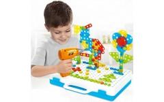 Детский конструктор Creative Magic Panel  (151 элемент)