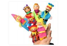 Пальчиковые куклы - Королевская семья (набор из 6 шт.)