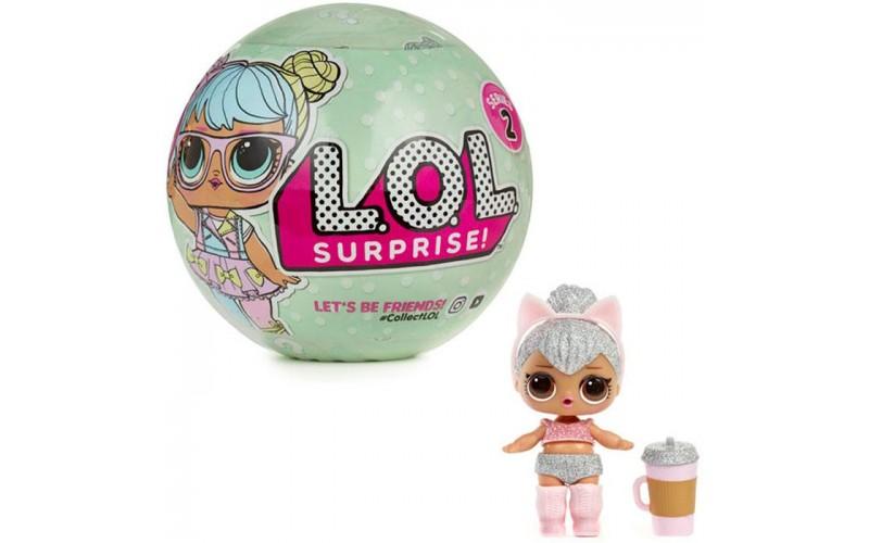 LOL Блестящие - кукла-сюрприз (в шарике)