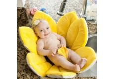 """Матрасик-коврик для купания новорожденного малыша. """"Нежный цветок"""""""