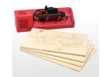 Выжигание. Электроприбор для выжигания по дереву «Вязь-10К»  (аппарат, 4 доски)