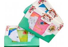 Подарочный набор к 8 марта (полотенце+носовой платок+носки)