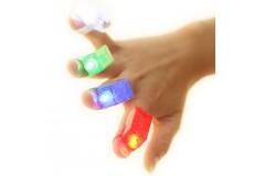 Лазерные пальцы Laser Finger Beams (Светодиодные цветные лампочки, крепятся на пальцах)