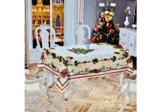 Новогодняя скатерть 110х150 см