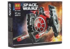 Конструктор Bela Star Wars Истребитель СИД Первого Ордена 10894 (Аналог Lego Star Wars 75194) 97 дет