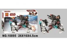 Конструктор Bela Star Wars Боевой набор специалистов Первого Ордена 10895 (Аналог Lego Star Wars 75197) 132 дет