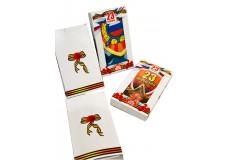 Полотенце вафельное в подарочной упаковке к 23 ФЕВРАЛЯ