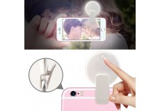 Портативная камера Selfie LED Ring Fill Light для iPhone Android Phone